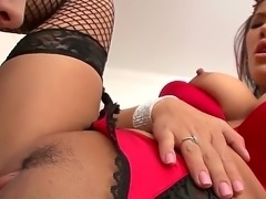 Asian beauty London Keyes loves having her ass hole inspected. Listen to her...