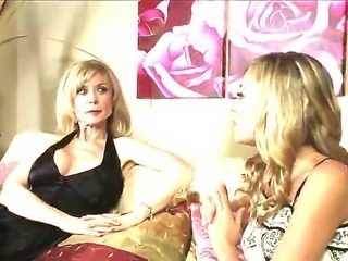 Mature Nicole Ray loves young girls