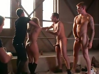 Muscular dudes Chris Archer, James Deen and John Smith are viosexy the...