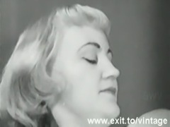 Vintage Masturbation 1931 with blonde Milf free