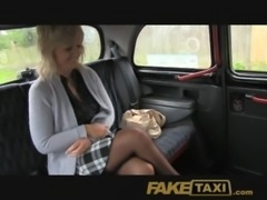 FakeTaxi Mature blonde mom has the ride of her life free
