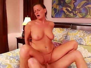 Passionate big tittied and big assed