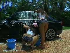 Micah Moore and Pinky are the best and the sexiest car wash girls weve ever...