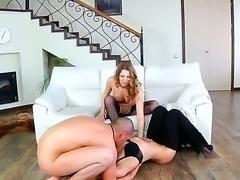 Electra,Eva Smolina and Timo Hardy in wild and nasty threesome fuck scene