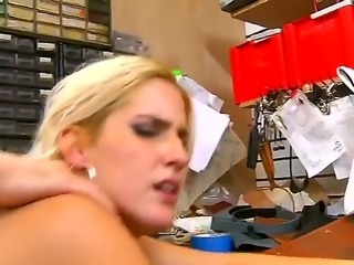 Gorgeous babe with an amazing fit body, small boobies and sexy tight asshole is being drilled by the hard cock of her handsome boyfriend, which is doing a nice job doing that.