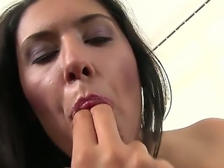 Diana Stewart has a tight pussy