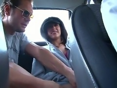 Colombian teen Elida was invited by Nacho Vidal to visit his home! He wants...