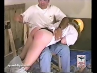 Caught and spanked free