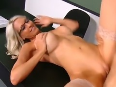 Have a look at mind-blowing blonde sex teacherEmma Starr dancing in the...