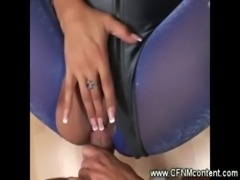 CFNM MILFs suck and fuck his hard cock free