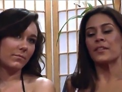 Raylene and Sinn Sage are tired of fucking with their husbands and want...