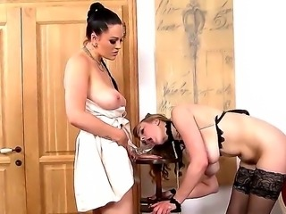 Last we left Mistress Paige and Sapphire, Paige was having her very little...