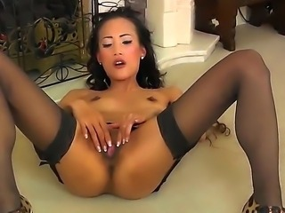 Ayla Sky likes to masturbate and nobody can stop her, because only this process brings her lots of pleasure. Moreover, she prefers to play with various sex toys. Have fun while watching