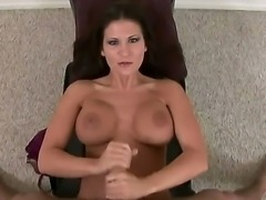 Attractive cock loving arousing brunette milf Austin Kincaid with juicy ass...