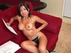 One of the hottest employees of Nuru massage parlor, delicate Jackie Lin is...