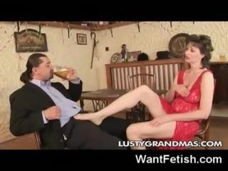 Fucking a Hot Granny! free