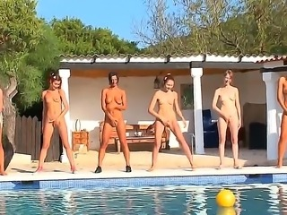 The seductive whores Adria, Beata, Maria, Monica, Natasha, Vika shows us her...