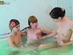 Hello to everyone! This is an amazing amateur action with naked girls Aspen,...