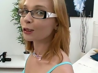 Geek girls are well-known cock-suckers. Paloma cant deny that, because when...