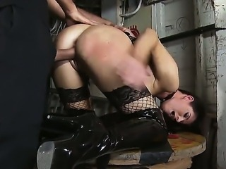 Stunning India Summer is giving Keiran Lee a lusty deepthroating during hardcore domination sex