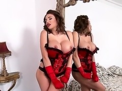 Enjoy amazing new face and bosom Clanddi Jinkcego! Appearing before us in her...