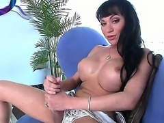 Mia Isabella is a shemale model with enornous size of a cock, many guys would...