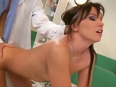 Alysa Gap comes to her doctor and he gives her superb treatment. The man...