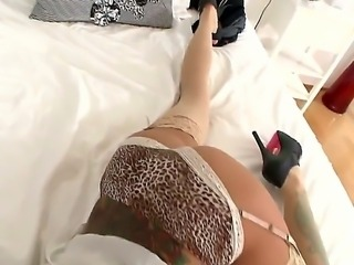 Gia Dimarco is adorable babe with big boobs and perfect body. She looks...