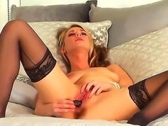 Take a glance at so nice masturbation from cute girl Michele Monroe. She...