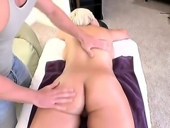 Attractive hot ass tattooed blonde babe