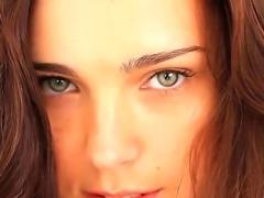 Adorable young brunette hottie Anita E