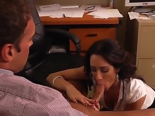 Rocco is disgruntled as all hell. He started his internship with Capri Cavanni and her company working out of her offices, and business has been so bad that theyve downgraded to working out of her home office.