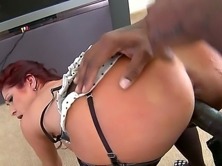Old slut Tiffany Mynx has called the big black cock delivery service, it seems  the door-to-door salesmen knocking on her door are so damn hung and willing to fuck her raw!