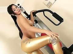 You can tell that Alyssa is a regular at the gym by looking at her fit body. She loves to put it on display in front of the camera and tease us with sexy pussy.