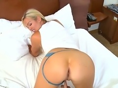 Tatiyana Foxx and Abbey Brooks are two horny escorts eager to deep fuck their tight holes