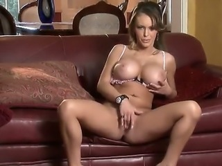 Jenna Presley is amazing bombshell! She has adorable, sexy, but aggressive...