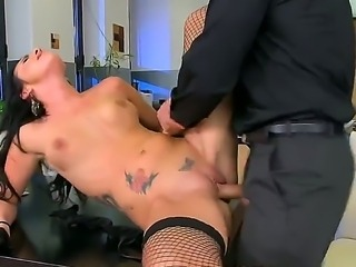 Devilish brunette secretary Lexi Ward gets fucked sweet and hard by her boss...