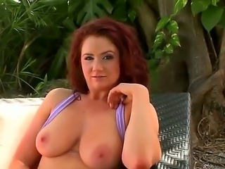 Exciting Aurora has something that can make crazy and wild every man in the universe, not only Jmac. Jmac is really lucky to taste her large natural boobs and sweet nipples.