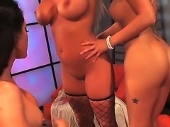 Hello people! Three sexy ladies decided to lick each others pussies and it...