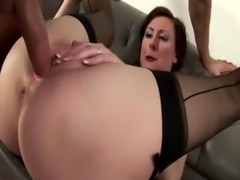 Mature amateur brit gets a cumshot free