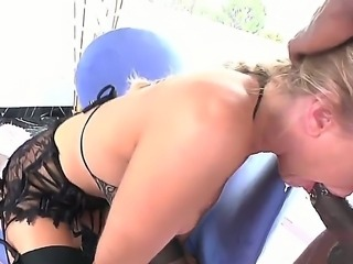 Wonderful milf babe with sexy natural boobies Julia Ann is having her mouth nicely penetrated by the big boner of her man Tone Capone. Enjoy the hot video.