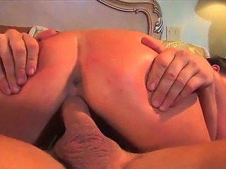 Tanned arousing brunette slut Penny Flame with natural boobs and tight body rides on her neighbor with meaty knob and foot fetish and gets boned deep in hardcore bedroom session.