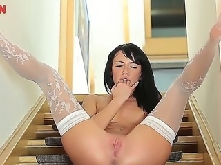 Gina Devine has the love that never dies - the love, devoted to her wonderful vagina. She adores massing it with her fingers and feels the wetness flowing out of her.