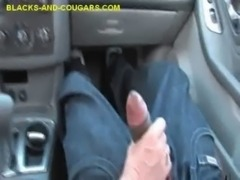 Interracial Sucking For Cougar free