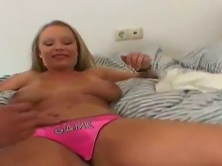 Marvelous hot babe with gorgeous titties Jessica Moore is having an amazing...