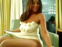 Leaked Striptease of Super Model