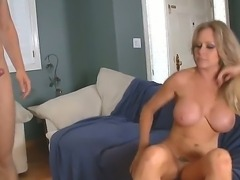 Danny Wylde enjoys licking and fucking Dyanna Laurens sweet and tight pussy