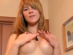 The amazing blonde pornstar Beatris with a small but sexy tits and beautiful...
