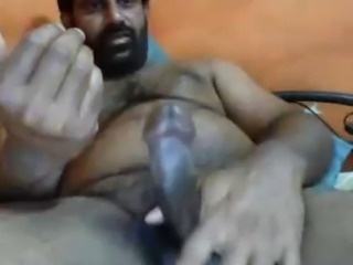 hot hairy indian jerk off