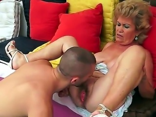 Effie is my friends granny whom I fucked! Her hairy pussy is awesome and she always moans with pleasure when feels my hard cock inside it. Then I cum on her face.